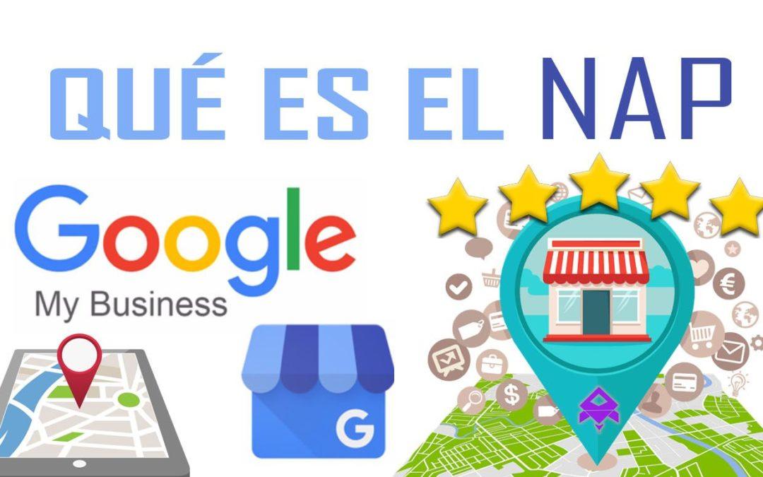 Qué es el NAP en Google My Business