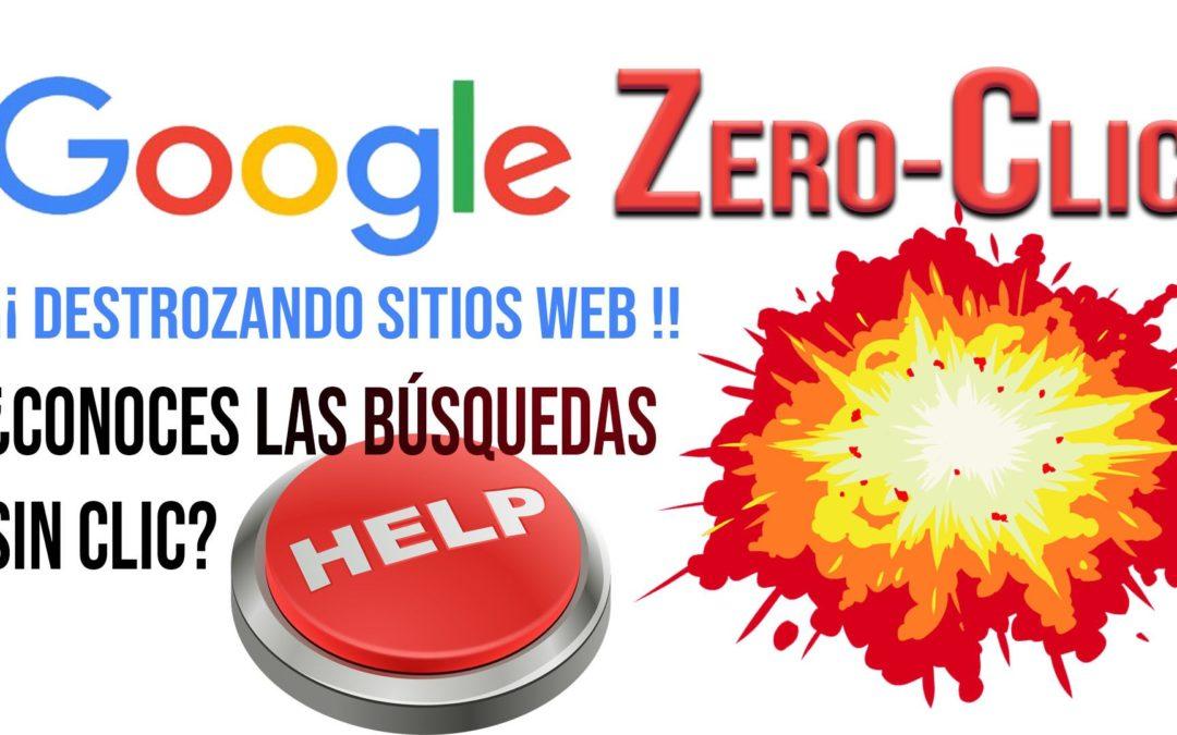 """El ZERO-CLIC de Google """"destroza"""" muchos sitios web 🥵"""