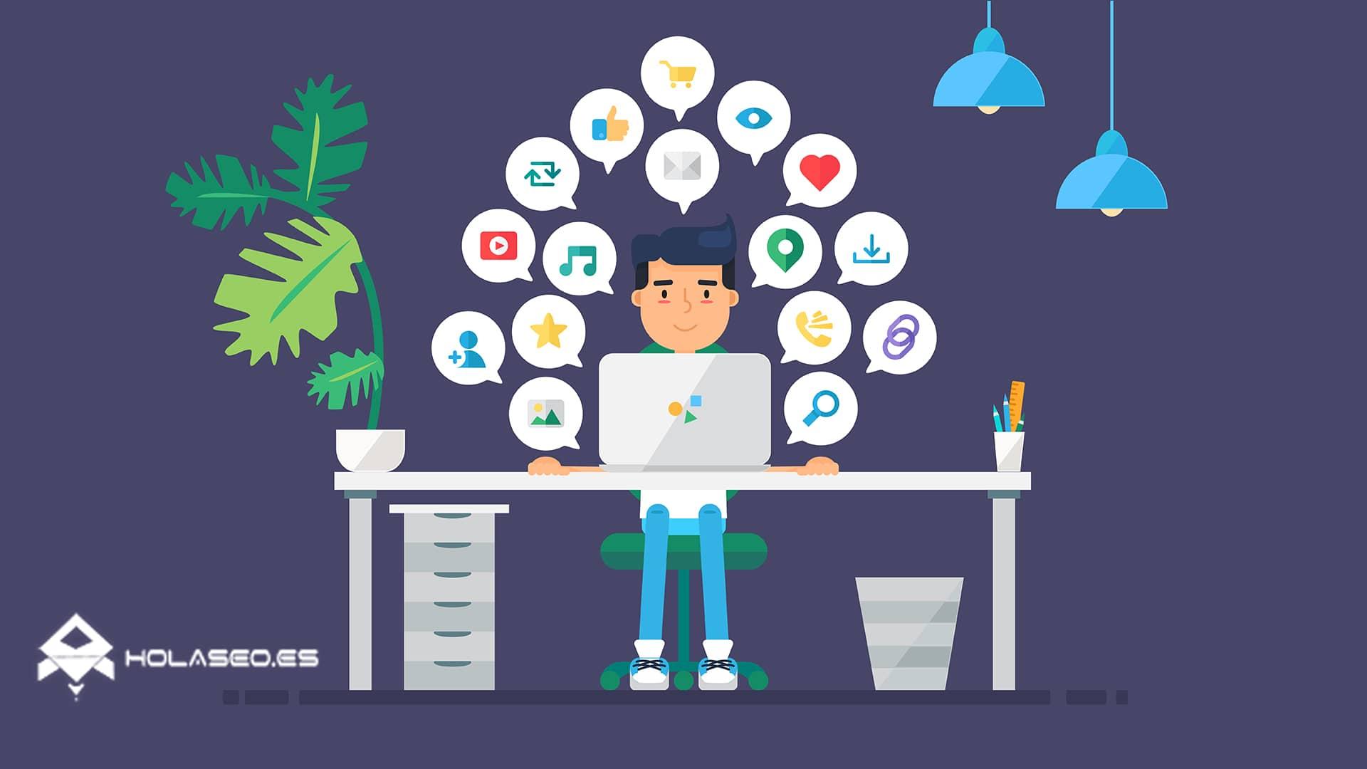 redes sociales más usadas en España